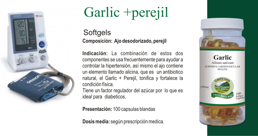 Garlic + Perejil